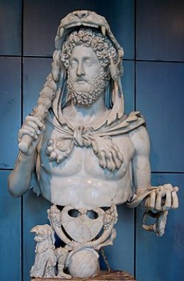 Emperor Commodus as Gladiator