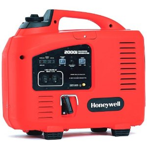 Honeywell HW2000i 2,100 Watt 125cc 4-Stroke Gas Powered Portable Inverter Generator (CARB Compliant)