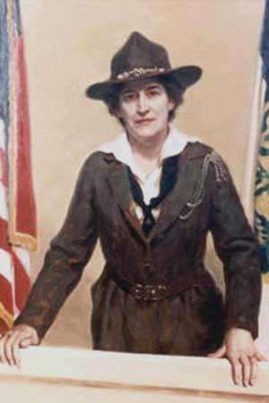 Founder of the Girl Scouts of America Juliette Gordon Low