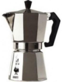 A stove-top espresso moka pot