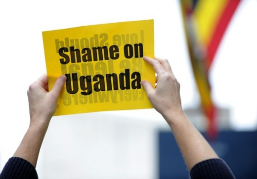 At the encouragement of evangelicals, Uganda is in the process of passing the most virulent anti-gay laws on the planet. These laws, if they can even apply them, will extradite even organizations that support gay rights to severely punish them.