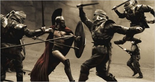 The Greek Hoplites were renowned for their fighting skills when the defeated the mighty Persian army. Their society was based on same sex arrangements and coupling of warriors.