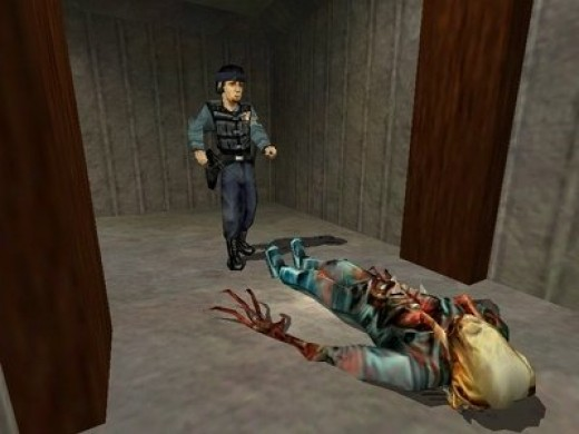 Somebody's got a dose of head crabs in Half Life on PC...