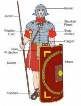 A Roman Legionnaire