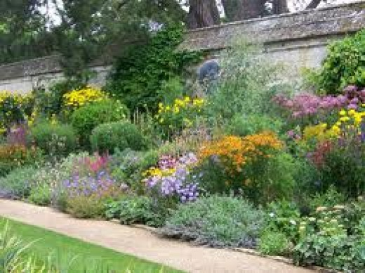 Designs For Garden Flower Beds, Flower Garden Borders, Pictures Of