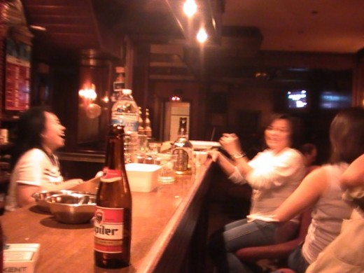 Filipinas @ Davaoenas Resto-Bar in Antwerp having all the laughs (IAA)