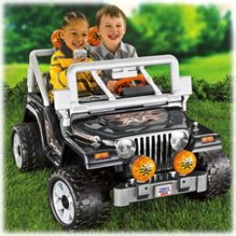 Power Wheels Tough Talkin Jeep