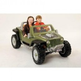 Power Wheels Ultimate Terrain Traction Jeep Hurricane