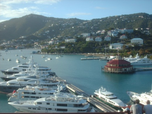 St Thomas Cruise Port