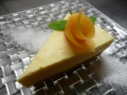 melon cheesecake