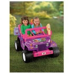 Power Wheels Dora the Explorer Jeep Wrangler