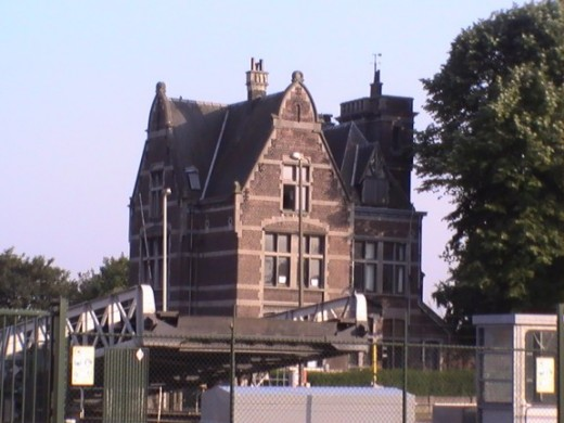 Typical house @ Antwerp near the port (IAA)