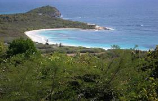 Half Moon Bay Beach Antigua
