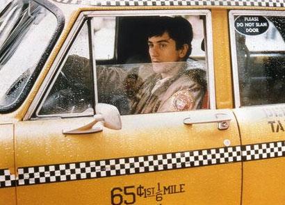 Robert DeNiro as Travis Bickle in Taxi Driver