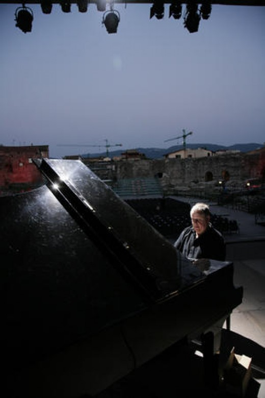Kenny Werner performing in 2007.
