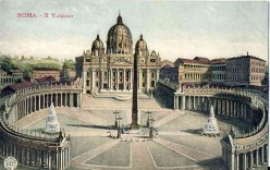 Rome is a world - some poems and vintage postcards about the city in Italy
