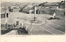 The piazza and obelisk