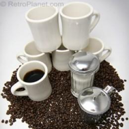 Classic Diner Coffee Mugs
