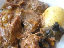 Economy Gastronomy Recipes: Daube of Beef.