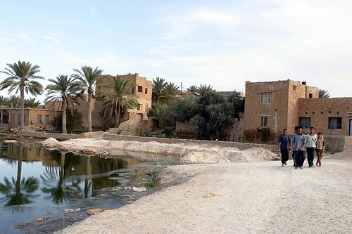 E is for Euphrates -- A river originally bordering the Garden of Eden