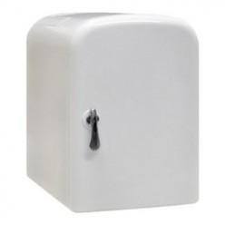 4 Liter AC/DC Portable Mini Fridge Cooler Warmer (White)