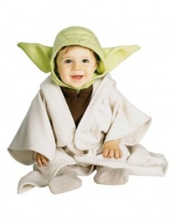 Baby Yoda Costumes and Yoda Ears - Dress your Baby as a Christmas Yoda