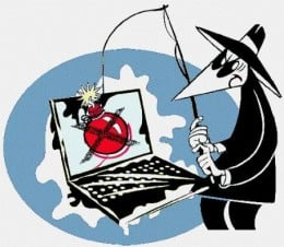 Beware! There is a thief behind every internet node!