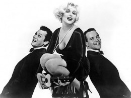 """A PR shot for  """"Some Like it Hot"""" with Marilyn Monroe and Jack Lemmon Attribution: Creative Commons"""