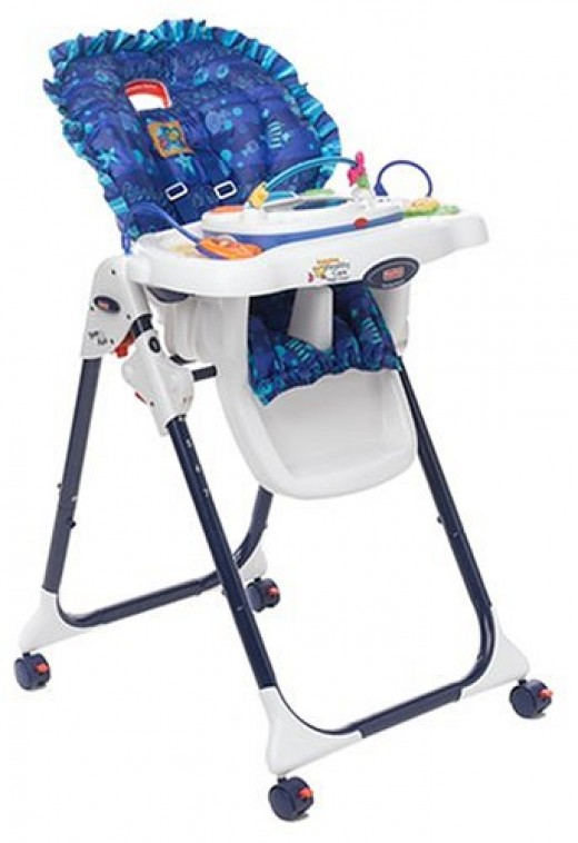 fisher price aquarium high chair cover 2