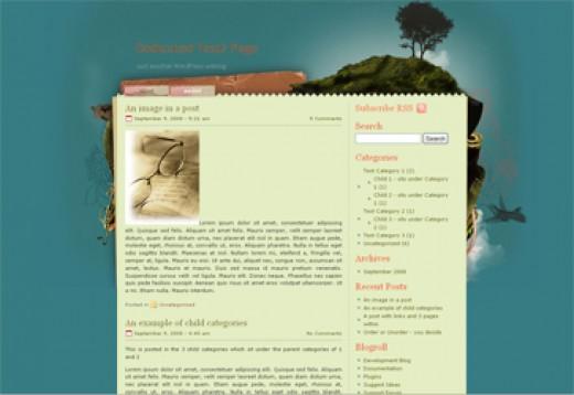 Exotic Simple Wordpress Theme