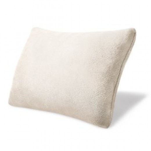 "Homedics OT-TRVL Ortho + Therapy Memory Foam Travel Pillow with Carry Case, 15"" x 11"" x 4.5"""