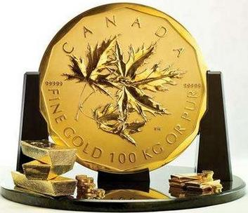 Canada's New Giant $1 Million Coin