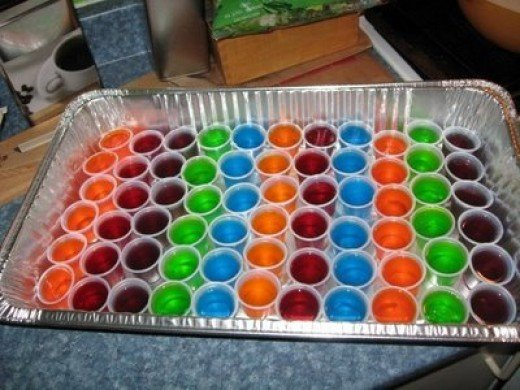 The perfect vodka jell o shot recipe for Easy shot recipes with vodka