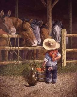 Cowboys wish for horses