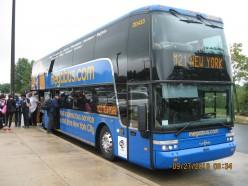 Taking Megabus from Manhattan to Baltimore