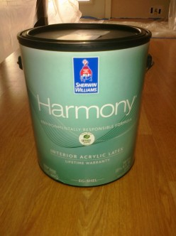 Sherwin Williams Harmony (No VOCs) Odor Free Paint Review