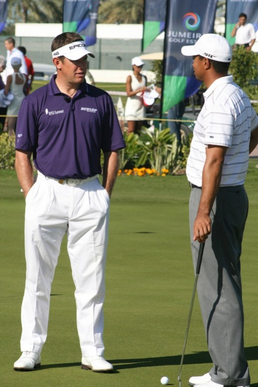 Both Lee Westwood and Tiger Woods are the top picks for their respective Ryder Cup teams.