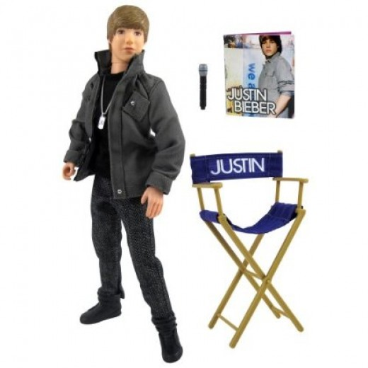 "Justin Bieber doll that sings ""Baby"""