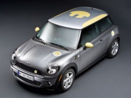 All Electric BMW Mini Car