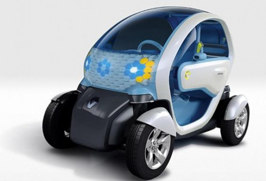 Renault Twizy All Electric Car
