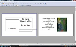 """This is how adjoining two page sheets look in """"page preview"""" in Open Office -- but is that right? Answer: No. It's not right."""