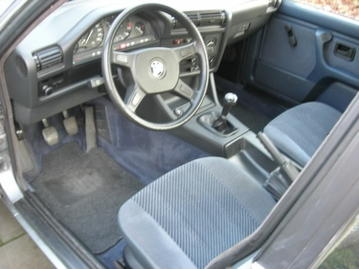 BMW E30 3 series interior