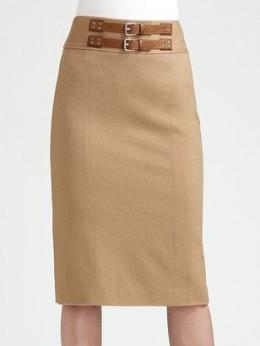 Ralph Lauren Camel Skirt