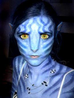 Avatar movie make up kit
