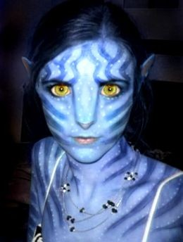 Avatar movie make up kit