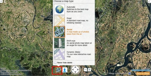 map view types