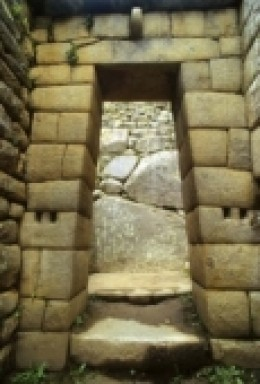Look at the carefulness and the craftsmanship of this doorway. Inca architecture is filled with such marvels.