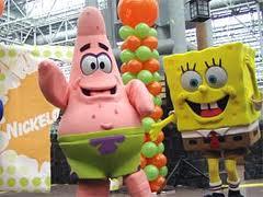 Patrick and SpongeBob