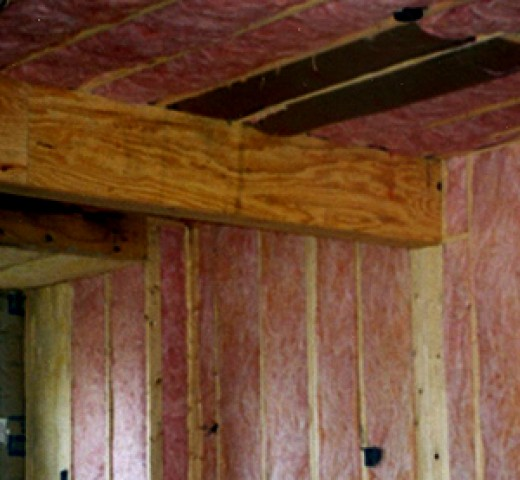 Look for full, continuous insulation.