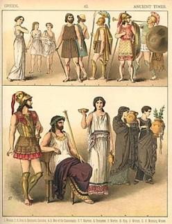 Greek Women's Fashion (Alexa Delaney)